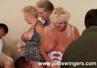 older group intercourse celebration