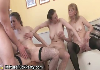 experienced chicks are squeezing part11